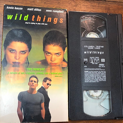Wild Things VHS