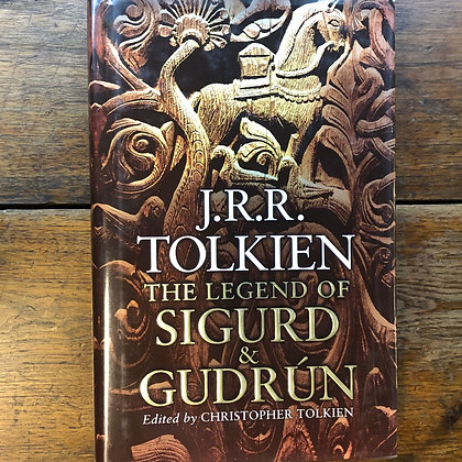 Tolkien, J.R.R. - The Legend of Sigurd and Gudrún hardcover