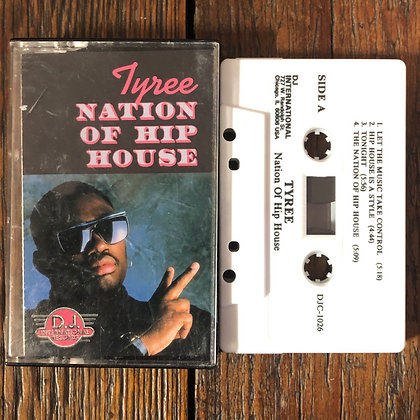 Tyree : Nation of Hip House - Cassette Tape
