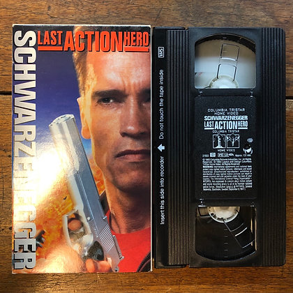 Last Action Hero VHS