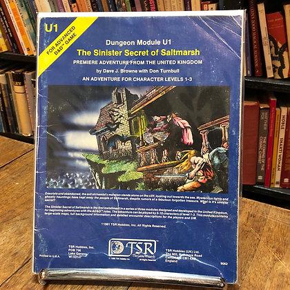 Dungeons & Dragons - The Sinister Secret of Saltmarsh