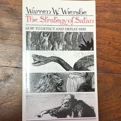 Wiersbe, Warren W. - The Strategy of Satan