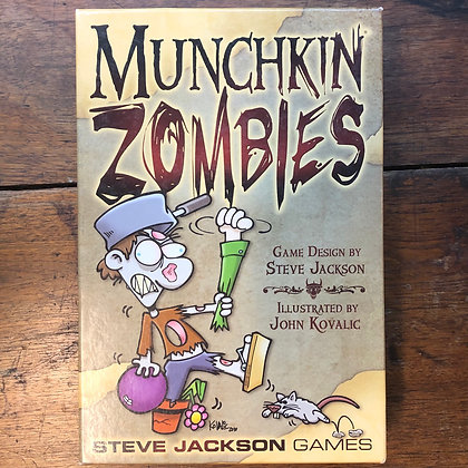 Munchkin ZOMBIES *complete* card game.