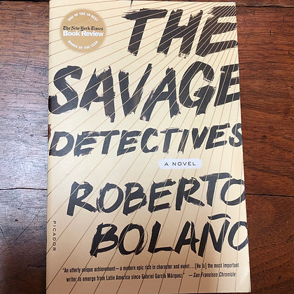 Bolaño, Roberto - The Savage Detectives softcover