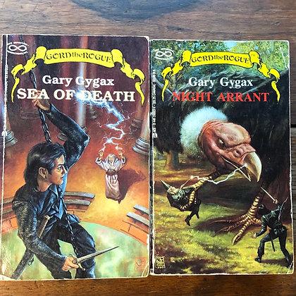 Gygax, Gary : SEA OF DEATH/NIGHT ARRANT - paperbacks