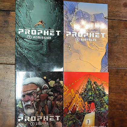 Prophet books 1-4 graphic novel