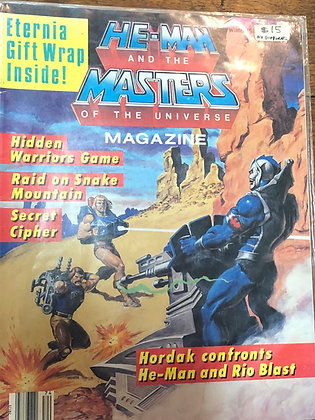 He-Man and the Masters if the Universe magazine