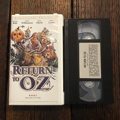 RETURN TO OZ - VHS