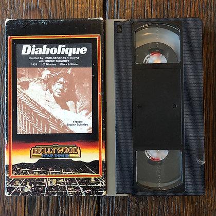 DIABOLIQUE - VHS