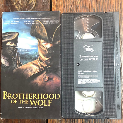 BROTHERHOOD OF THE WOLF - VHS