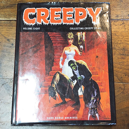 CREEPY - Volume 8 hardcover comic