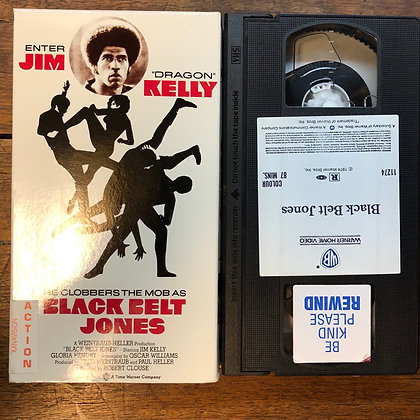 Black Belt Jones VHS *previous rental*