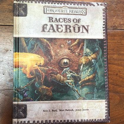 D&D Forgotten Realms - Races of Faerûn hardcover