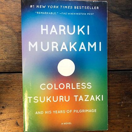Murakami, Haruki - Colorless Tsukuru Tazaki softcover