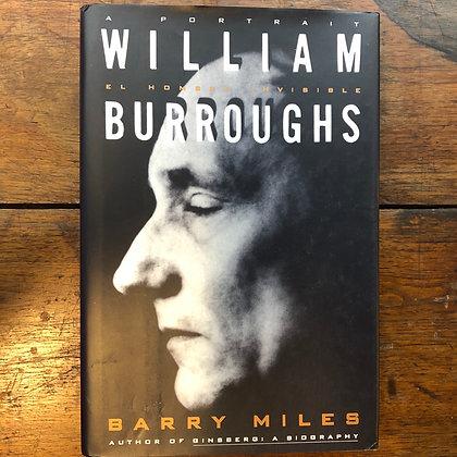 Miles, Barry - William Burroughs - A Portrait hardcover