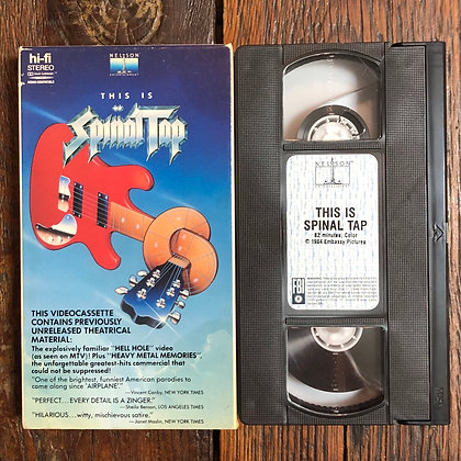 This is SPINAL TAP - VHS