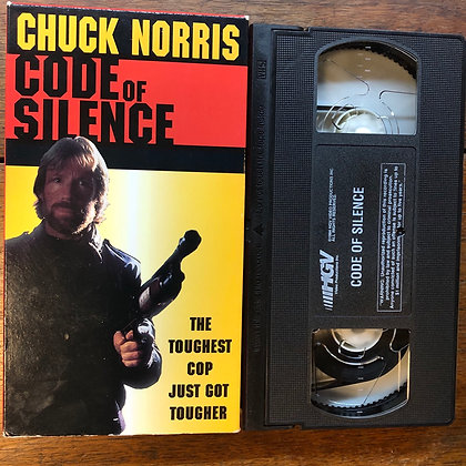 Chuck Norris - Code of Silence VHS