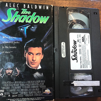 The Shadow VHS