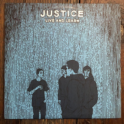 JUSTICE : Live and Learn - Vinyl LP