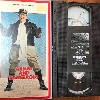 Armed and Dangerous VHS