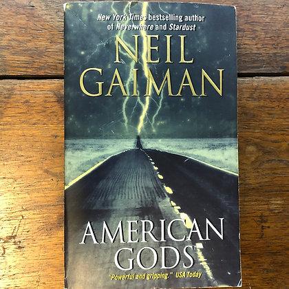 Gaiman, Neil - American Gods softcover