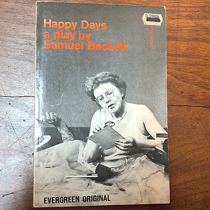 Beckett, Samuel - Happy Days softcover