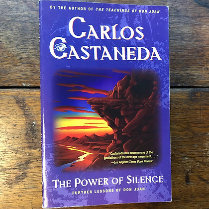 Castaneda, Carlos - The Power of Silence softcover