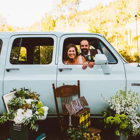 Krista + Justin | September 14, 2019 | Bearcat Stables | Beaver Creek, Colorado | Wedding