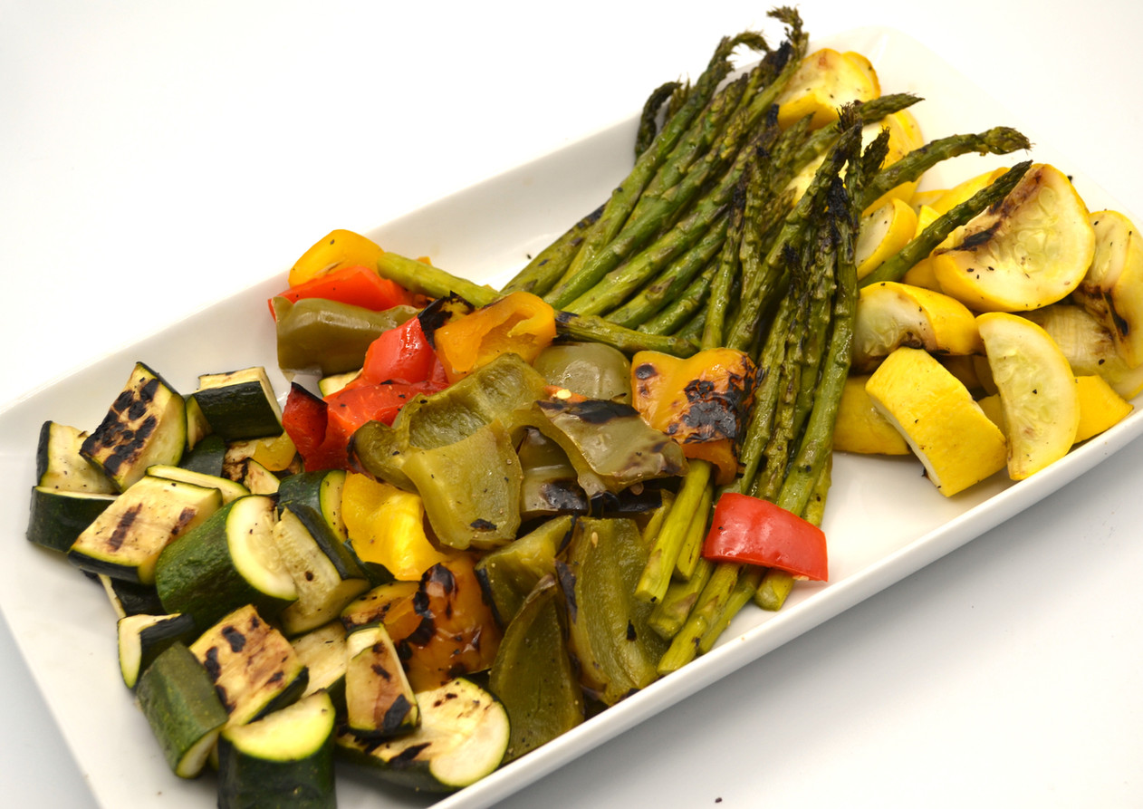 Roasted and Grilled Vegetables
