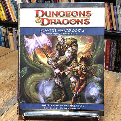 Dungeons & Dragons - Players Handbook 2
