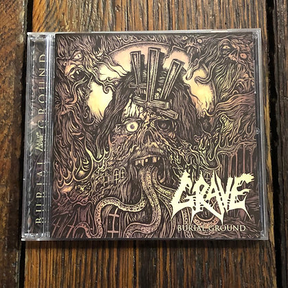 GRAVE : Burial Ground - CD