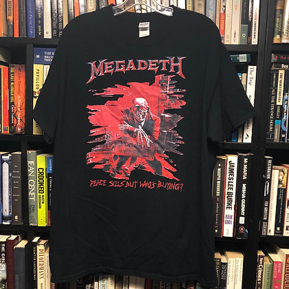 MEGADEATH shirt XL : Peace Sells but Who's Buying (red)