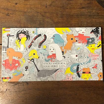 Sticks Angelica, Folk Hero by Michael DeForge - Hardcover Graphic Novel
