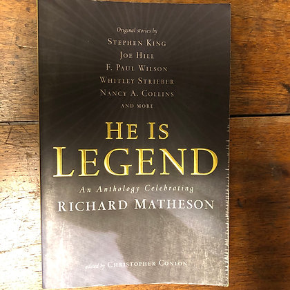 Matheson, Richard - He Is Legend softcover
