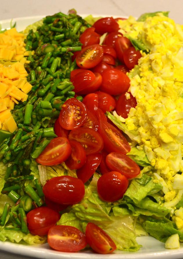 Colorful Cobb Salad