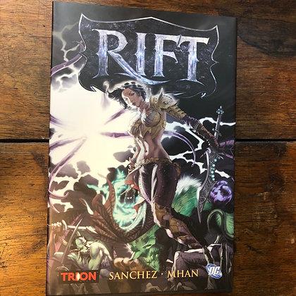 Sanchez•Mhan - Rift  hardcover graphic novel