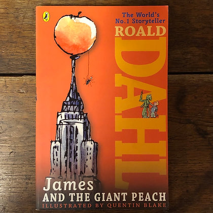 Dahl, Roald : James and the Giant Peach - Softcover