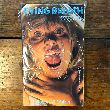 Walker, Robert - Dying Breath vintage paperback