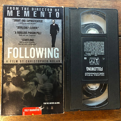 Following VHS *previous rental*