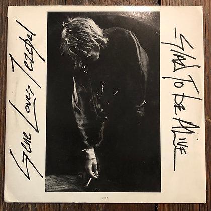 GENE LOVES JEZEBEL : Glad to be Alive - Vinyl LP