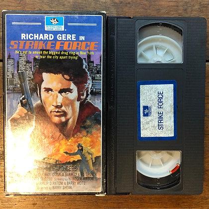 Strike Force VHS