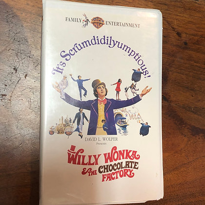 Willy Wonka and the Chocolate Factory VHS