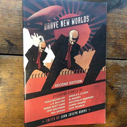 Adams, John Joseph - Brave New Worlds softcover