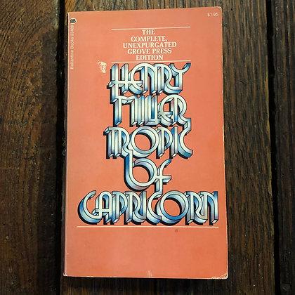 Miller, Henry : Tropic of Capricorn - Paperback
