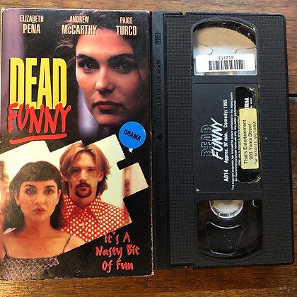 Dead Funny VHS *previous rental*