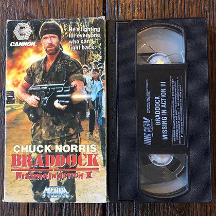 BRADDOCK - VHS