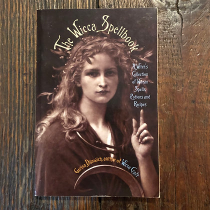Dunwich, Gerina : The Wicca Spellbook - Softcover