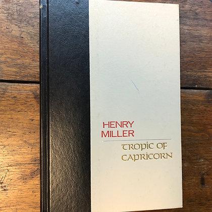 Miller, Henry - Tropic of Capricorn hardcover