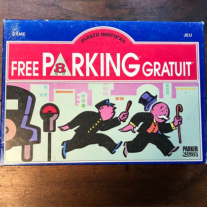 Parker Brothers FREE PARKING Game 1988
