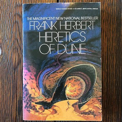 Herbert, Frank : Heretics of Dune - Paperback